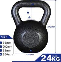 kettlebell hierro fundido iron cast barata comprar